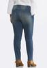 Plus Petite Distressed Skinny Jeans alternate view