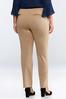 Plus Petite Slim Leg Ponte Pants alternate view
