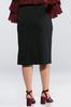 Plus Size Ponte Pencil Skirt alternate view
