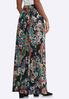 Plus Size Ruched Waist Maxi Skirt alternate view