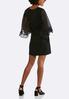 Plus Size Embellished Ruffle Sleeve Dress alternate view