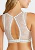 Mesh Center Ivory Lace Bralette alternate view