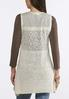 Plus Size Shell Sweater Vest alternate view