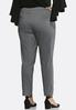 Plus Size Jacquard Pull- On Pants alternate view
