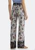 Floral Houndstooth Palazzo Pants alternate view