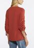 Plus Size Fall In Love Ruched Top alternate view