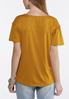 Criss Cross Lace Up Sleeve Top alternate view
