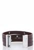 Layered Faux Leather Bracelet alternate view