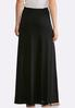 Solid Hacci Maxi Skirt alternate view