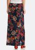 Floral Puff Maxi Skirt alternate view