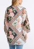 Plus Size Rose Blossom Kimono alternate view