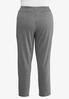 Plus Size Houndstooth Pull- On Pants alternate view