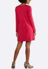 Plus Size Solid Stretch Swing Dress alternate view