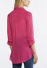 Plus Size Solid Button Down Tunic alternate view
