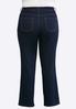 Plus Size Straight Leg Jeans alternate view