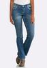 Petite Embellished Pocket Bootcut Jeans alternate view