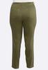 Plus Size Shape Enhancing Color Skinny Jeans alternate view