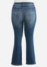 Plus Size Shape Enhancing Bootcut Jeans alternate view