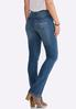 Petite Shape Enhancing Bootcut Jeans alternate view