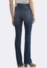 Dark Shape Enhancing Bootcut Jeans alternate view