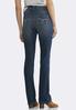 Petite Dark Shape Enhancing Bootcut Jeans alternate view