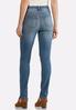Distressed Skinny Stretch Jeans alternate view