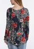 Plus Size Floral Pullover Top alternate view