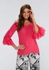 Double Ruffle Sleeve Top alternate view