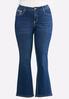 Plus Petite Colorful Stitch Bootcut Jeans alternate view
