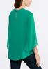 Plus Size Embellished Tulip Sleeve Top alternate view
