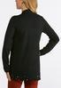 Plus Size Pearl Trim Cardigan Sweater alternate view