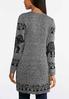 Plus Size Elephant Cardigan Sweater alternate view