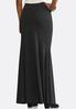 Plus Size Mermaid Maxi Skirt alternate view