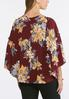 Plus Size Extreme Bell Sleeve Poet Top alternate view