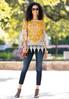 Crochet Embroidered Tunic alt view