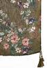 Floral Tasseled Oblong Scarf alternate view
