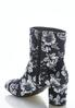 Floral Velvet Ankle Boots alternate view