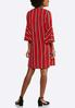Stripe Bell Sleeve Dress alternate view
