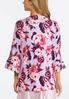 Floral Kimono Sleeve Robe alternate view