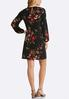 Plus Size Cold Shoulder Lace Yoke Dress alternate view