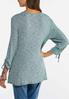 Plus Size Grommet Embellished Tunic alternate view