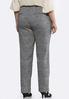 Plus Size Mixed Plaid Pants alternate view