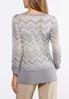 Lurex Chevron Sweater alternate view