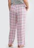 Plus Size Weekend Plaid Sleep Pants alternate view