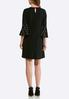 Plus Size Pearl Bell Sleeve Dress alternate view