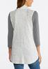 Plus Size Lace Trim Vest alternate view