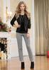 Gray Heather Slim Knit Pants alternate view