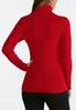 Plus Size Lurex Turtleneck Sweater alternate view