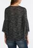 Plus Size Beaded Bell Sleeve Top alternate view