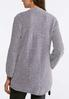 Plus Size Chenille Cardigan Sweater alternate view